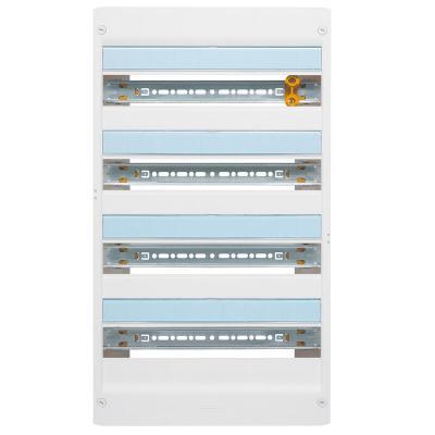 Coffret DRIVIA 18 modules 4 rangées IP30 IK05 - Blanc RAL9003
