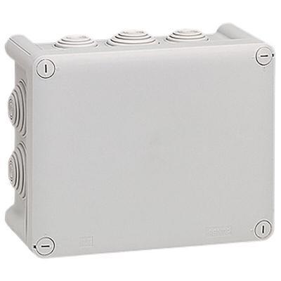 Boîte de dérivation rectangulaire Plexo dimensions 180x140x86mm