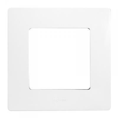 Plaque legrand niloé 1 poste - eclat