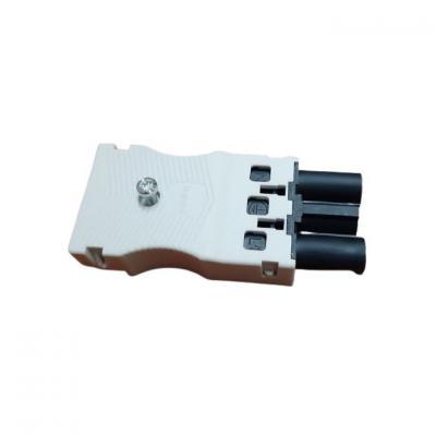 Connecteur raccordement rapide - 3 pôles bornes auto - mâle embo